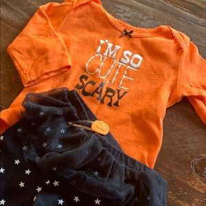 Carters infant Girls Halloween Outfit